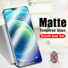 For iPhone 12 Pro Max 12 Mini 11 XR XS X Frosted Matte Soft Hydrogel Screen Film