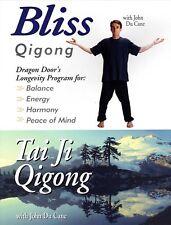 Bliss Qigong Dvd - Tai Ji Qigong with John Du Cane Anti Aging & Healing Tai Chi