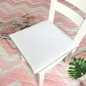 Soft Square Chair Cushion Booster Seat Pad Dining Kitchen Office Pads Floor Mats