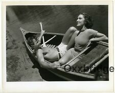 Fay Wray & Joel McCrea Candid Photo 1934 Bare Chest Shirtless Male Richest Girl