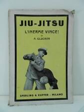 JIU JITSU Jiu do arti marziali A. Glucker Sperling 1945