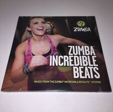 NEW ZUMBA INCREDIBLE BEATS MUSIC CD VOL 1 & 2 INCREDIBLE RESULTS SYSTEM