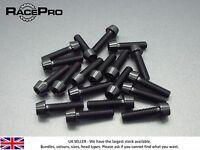 RacePro - 6x Titanium  Tapered Socket Bolt Torx - M7 x 20mm x 1mm - Black
