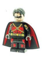 Red Robin Version2 (Batman) Printed on LEGO Parts Custom Minifigure