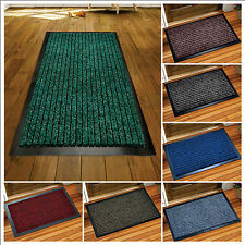 Anti slip Heavy duty Entrance Washable Mats Small Large Home commercial Doormats