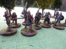 28 mm 11 figuras anglo/Saxon Hembra Sin Pintar Nueva Saga