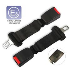 2pcs Car Seat Belt Safety Extender 10inc E8 Safety Certified Extension Buckle
