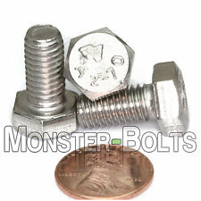 (10) M8 - 1.25 x 16mm - Hex Cap Tap Bolt / Screw DIN 933 - Stainless Steel A2-70