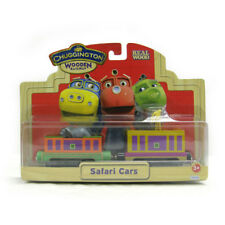 SAFARI CARS Chuggington Wooden Railway NEW BOX fits Thomas