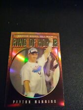 New listing 2007 Peyton Manning Chrome Ring of Honor Refractor #13/100 Indianapolis Colts