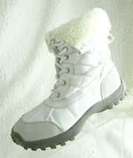 U.S. Polo Assn Girls Size 2M US White Tall Boots Shoes