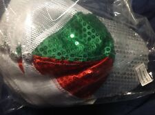 Sequined Baseball Caps (Package of 12) - Velcro Straps - NEW & SEALED