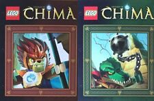 Lego Chima Pocket Folders 2 Styles Laval & Crooler Character Folders NEW LGO6599