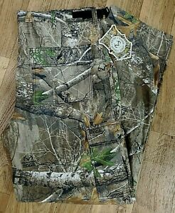 REALTREE EDGE Men 5 Pocket Comfort Flex Pant Camo Hunting Jeans NWT