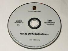 LATEST Porsche PCM2.1 sat nav disc Europe map update DVD 2015-2016