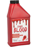 Bottle of Fake Blood Halloween Horror Theatrical Fancy Dress Vampire Zombie New