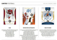 2018 PANINI LIMITED FOOTBALL RANDOM PLAYER 1 BOX BREAK