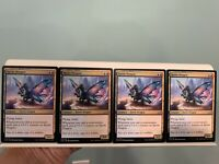 Sprite Dragon x4 Ikoria: Lair of Behemoths MTG NM #211/274 playset Same Day Hand