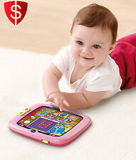 Tablet Learning Toy Music Educational Toddler Baby Girl Touch Light Up Pink