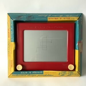 Vintage 1950's Etch A Sketch 505 With Original Box WORKING VG