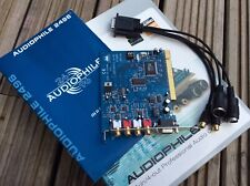 M-Audio Audiophile 2496 PCI Card with MIDI / SPDIF breakout cable. Box & manual