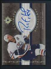 2006 Ultimate Collection Signatures #RS Ryan Smyth  Autograph NM    40188