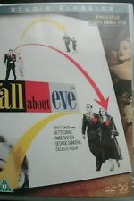 All About Eve (DVD) . FREE UK P+P ..............................................