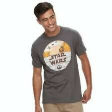 Men's Star Wars The Last Jedi Episode VIII BB8 Droid Graphic T Shirt Size XL NWT