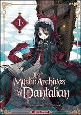 THE MYSTIC ARCHIVES OF DANTALIAN tome 1 Mikumo Abeno MANGA en français shonen