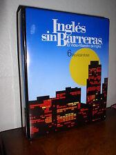 Ingles sin Barreras El Video-Maestro de Ingles - 6 Movilizandose (VHS,Cass,Manua