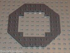 LEGO DkStone Plate 10 x 10 Octagonal Open Center ref 6063 / Set 7939 7905 10236