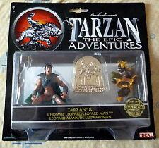TARZAN THE EPIC ADVENTURES ACTION FIGURES TARZAN & LEOPARD MAN