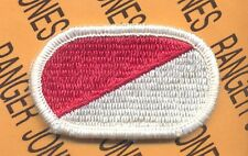 US Army 17th Air Cavalry Airborne RECON LRS para oval patch #3 Red Center line