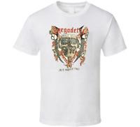 Vintage Megadeth Tour 1986 Band Short Sleeve Men T-Shirt S-234XL F310