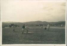 Photograph Japan 1954 Iwakuni Air Base navy  Football Match pic 1 3.25 x 2.25