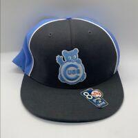 Chicago Cubs MLB Baby Blue Flat brim Hat Sz 8