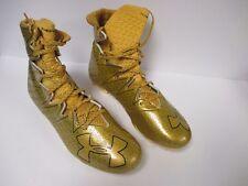 NEW Under Armour Highlight MC Football Cleats - Gold (Men's Shoe Size: 13)