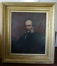 "Antique Oil On Canvas Painting""Portrait of a Gentleman""Museum Quality 1840-1880"