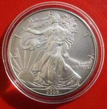 Amerika: 1 Dollar Silver Eagle 2008 o.Mz, KM# 213,#F0857, Seidenmatt