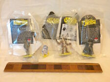 1995 STAR WARS TRILOGY PIZZA HUT FIGURE SET CHEWBACCA DARTH VADER R2D2 C3PO MIP!