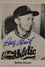 Bobby Shantz 1976 JDM 1955 Rodeo Meat #22 Reprint Autographed Signed Card 17G