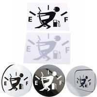2PCS funny vinyl tank sticker pull fuel tank pointer to full for car decals 3c