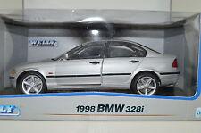 1:18 BMW 3er E46 Modellauto Silber 328i OVP Limousine 316i 320i 323i 320d Silver