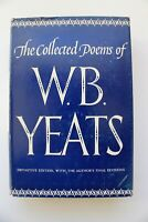 The Collected Poems of W B Yeats, Definitive Edition, 1969, 1st Ed 16th Printing