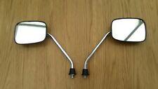 Honda C50 C70 C90 Cub 12v Square Headlight Pair Square Mirrors 10mm Thread