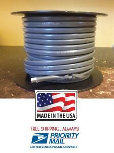 16 Gauge 2 Conductor 100' Roll Stranded Copper Made in USA Jacketed Duplex Wire