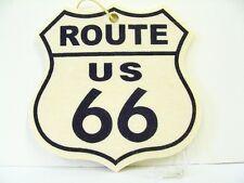 Route 66 logo fits Chevy Tropical Air Freshener Mirror Dashboard Emblem  NOS
