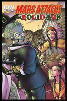 Mars Attacks The Holidays IDW Trade Paperback TPB Cover D Alan Robinson art New