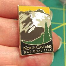 New Traveler Series Pin North Cascades National Park Washington Lapel Pin