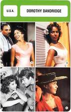 FICHE CINEMA :  DOROTHY DANDRIDGE -  USA (Biographie/Filmographie)